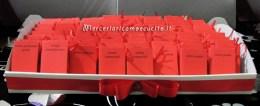 Bomboniera portaconfetti a forma di libro con esami Laurea in giurisprudenza per Anastasia