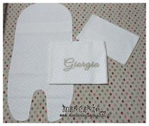 Set lenzuolino con stelline per Giorgia