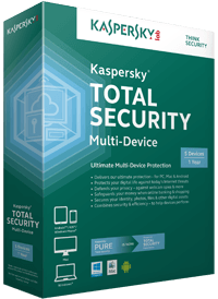 Image showing Kaspersky Total Security in box