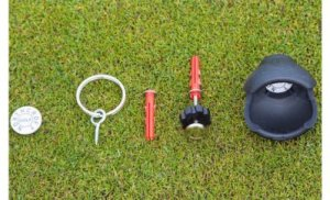 Image showing components of Northcroft Golf BAMP Pro on grass