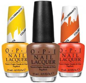 Image showing 3 bottles of Just My Look OPI Nail Polish in different colours