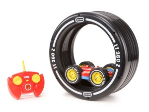 Image showing the Little Tikes Wheelz Tyre Twister and Remote Control.