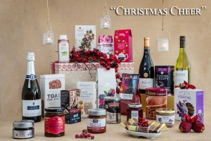 Festive Food Gifts- Image showing contents of Christmas Cheer Hamper