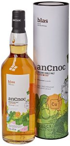 Image showing anCnoc Blas Single Malt Whisky Limited Edition on white background