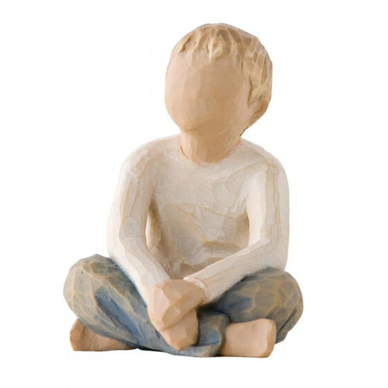 """WILLOW TREE IMAGINATIVE CHILD  - 2.5"""" 26226 - SOLD OUT"""