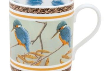 Beautiful bone china mugs by Robert E Fuller