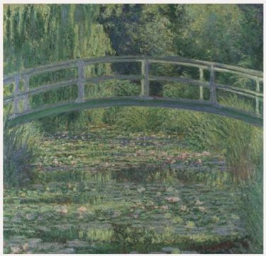 Monet's Pond copy