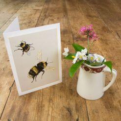 Bumblebee Card - Ben Rothery Illustrator