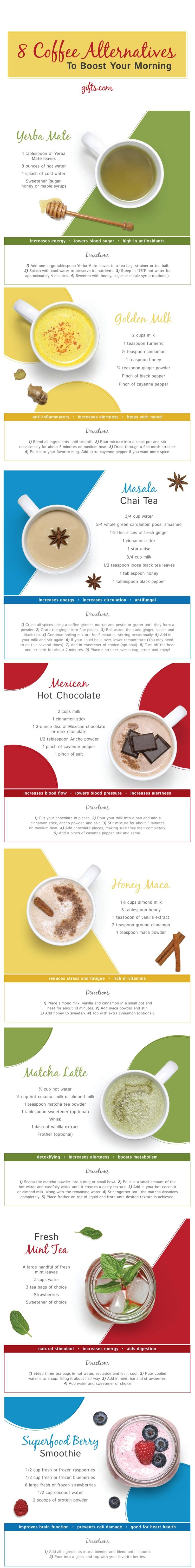 8 Coffee Alternatives