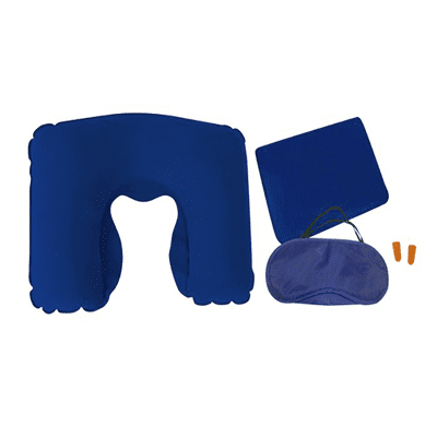 Giftsdepot-3-in-1-Comfort-Travelling-Set-view-blue-colour