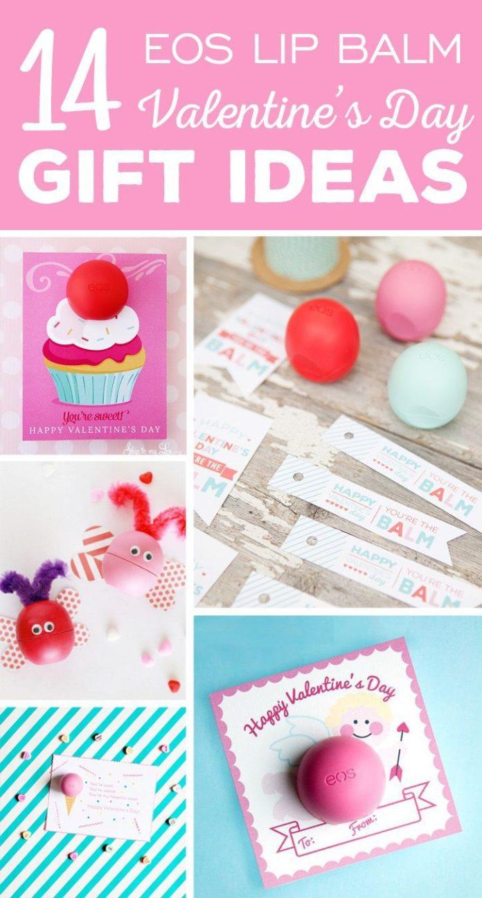 Valentines Day Gifts 14 Fun EOS Lip Balm Valentines Day