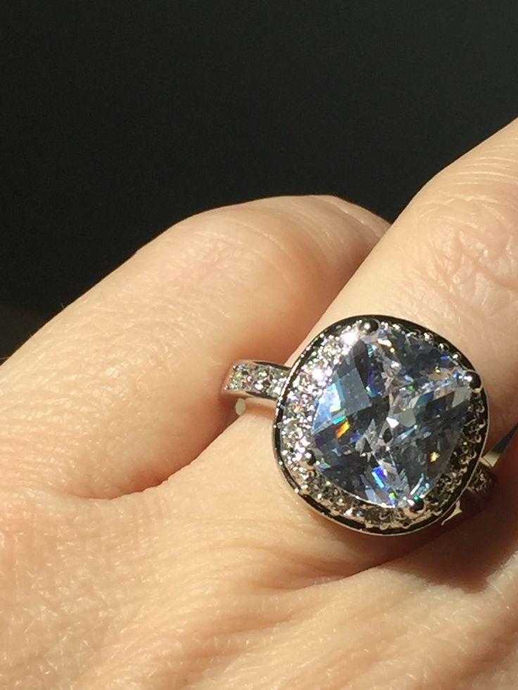 Birthday Gifts  A Perfect 6ct Cushion Cut Halo Russian