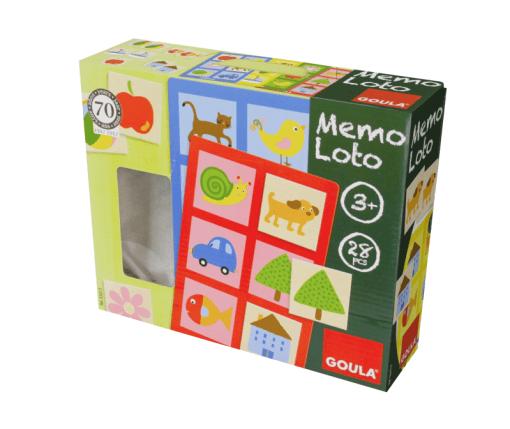 Goula Memo Lotto Game -2L