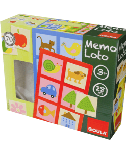 Goula Memo Lotto Game -2L