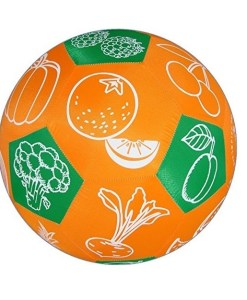Hands-On Play and Learn Fruit & Vegetables Fabric Ball sold by Gifts for little hands