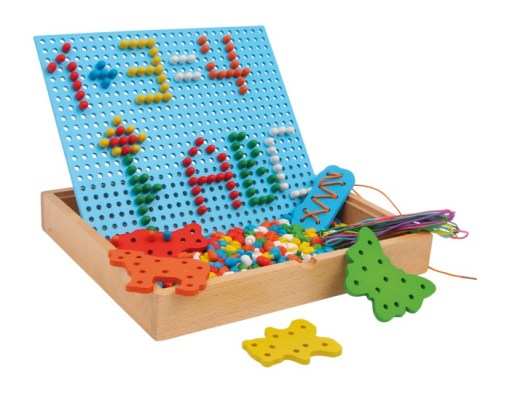 Creative Pin and Thread Puzzle -1