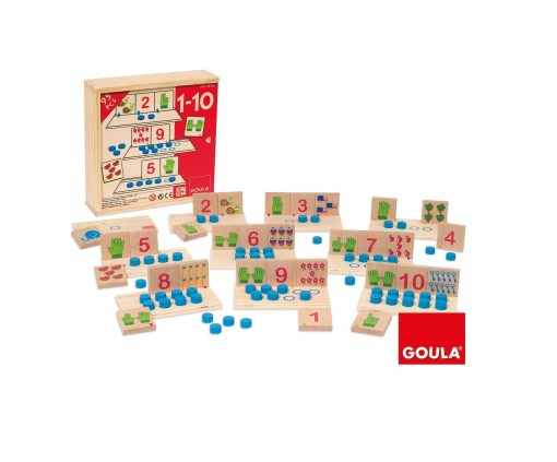 Goula Counting 1-10 sold by Gifts for little hands