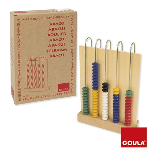 Goula Abacus 5 x 20 sold by Gifts for Little Hands
