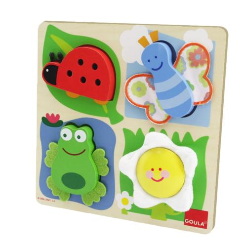 Goula Countryside Fabric Puzzle - 1