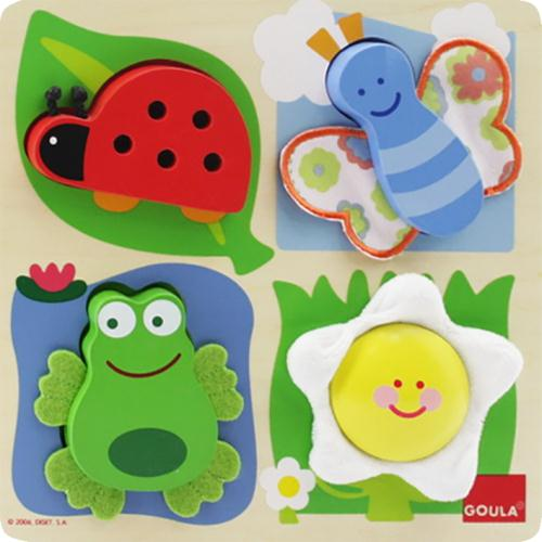 Goula Countryside Fabric Puzzle - 3