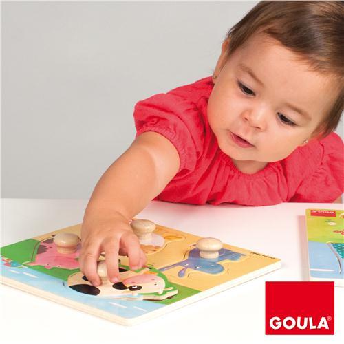 Goula Farm Animals Puzzle -3