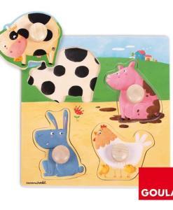 Goula Farm Animals Puzzle