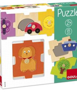 Goula Interchangeable Countryside Puzzle - 2