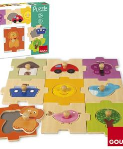 Goula Interchangeable Countryside Puzzle