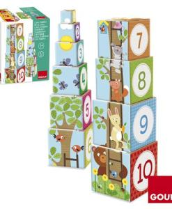 Goula Pile-up Cubes Forest Puzzle - 1