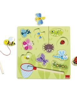 Goula Magnetic Wooden Bugs Puzzle