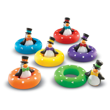 Smart Splash® Colour Play Penguins™ sold by Gifts for Little Hands