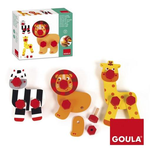 Goula Animals Twist and Play - 1
