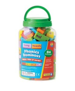 Phonics Dominoes Long Vowels sold by Gifts for Little Hands