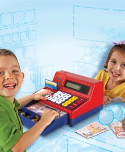 Pretend and Play Calculator Cash Register sold by Gifts for Little Hands