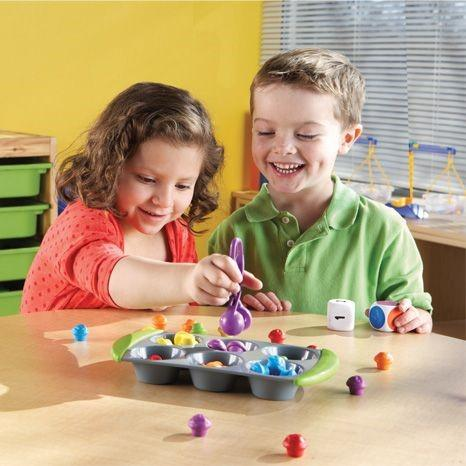 Muffin Match up Maths up maths activity set blog from gifts for little hands an educational toys website
