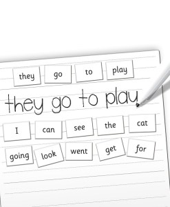 Magnetic Words - Reception Year sold by Gifts for Little Hands