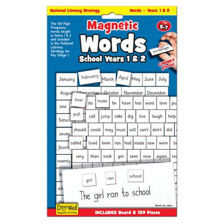 Magnetic Words - School Years 1 & 2 sold by Gifts for Little Hands