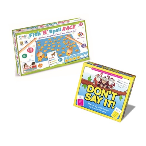Literacy Games Bundle sold by Gifts for Little Hands