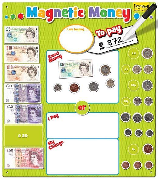 Magnetic Money | Gifts For Little Hands | Children's ...