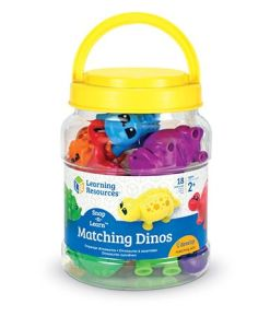 Snap-n-Learn Matching Dinossold by Gifts for Little Hand
