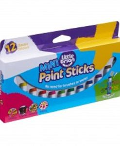Paint Sticks Mini - 12 Assorted sold by Gifts for Little Hands