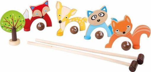 Forest Animal Croquet sold by Gifts for Little Hands