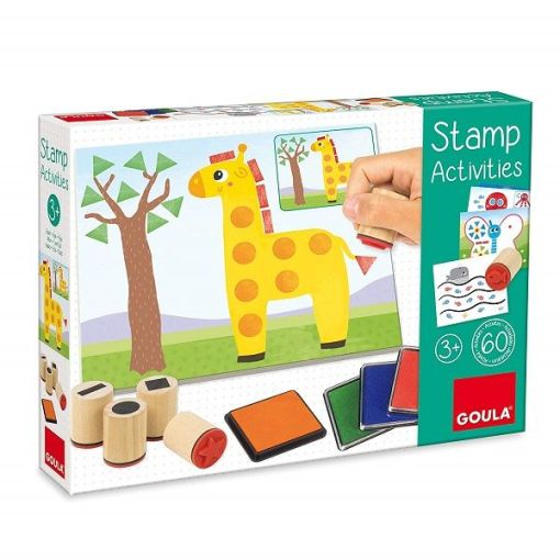 Goula Stamp Activities sold by Gifts for Little Hands
