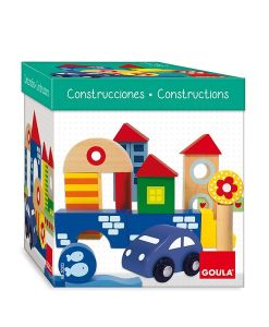 Wooden Construction 41 Piece Pack sold by Gifts for Little Hands