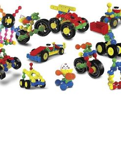 Interstar Wheels 20 Piece Toy Construction Set sold by Gifts for Little Hands