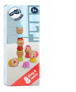 Stack-Egg Preschool Learning Toy sold by Gifts for Little Hands
