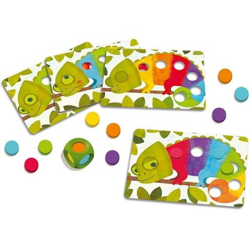 Colour Chameleon Matching Game sold by Gifts for Little Hands