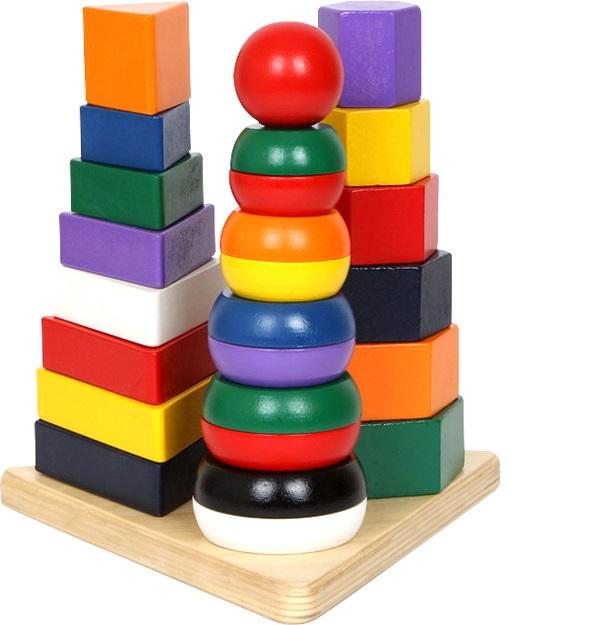 Pyramid 3 in 1 Preschool Toy