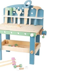 Wooden Nordic Kids Workbench