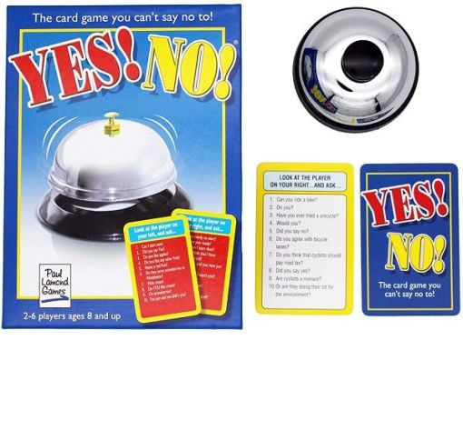Yes No Card Game